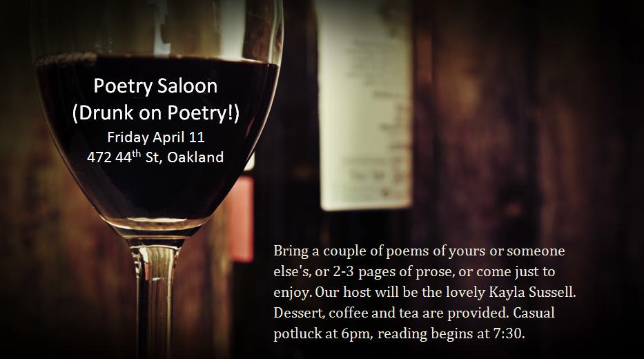 poetry saloon april