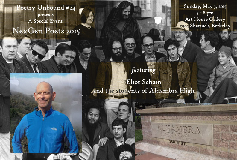 FLYER - Poetry Unbound #24 - May 3 2015