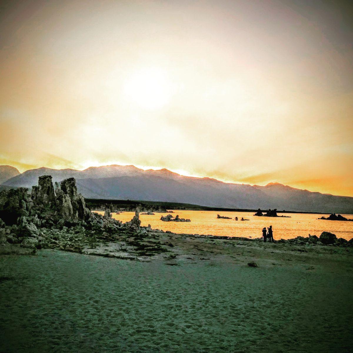 Sunset over South Tufa, Mono Lake 2015