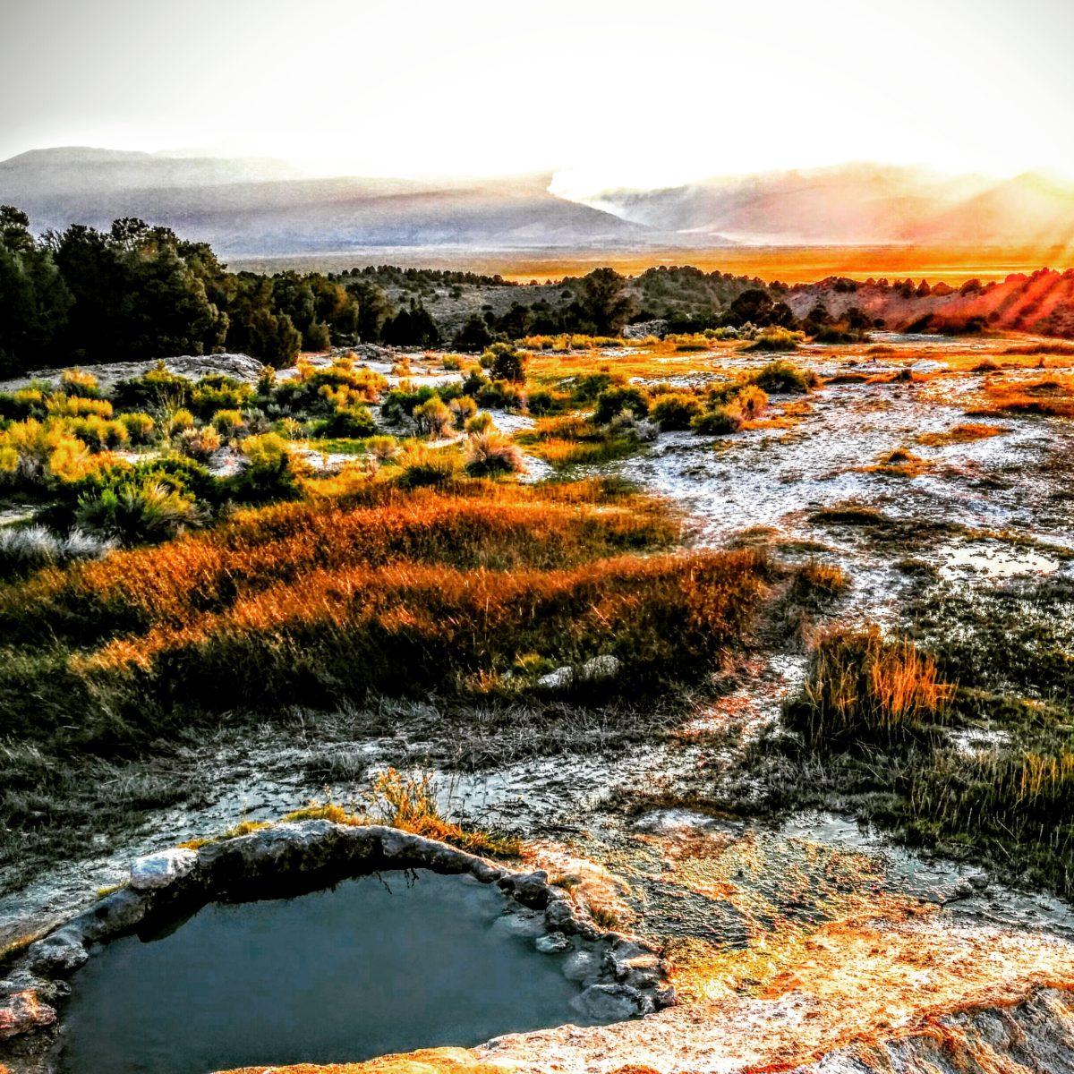 Travertine Hot Springs 2015