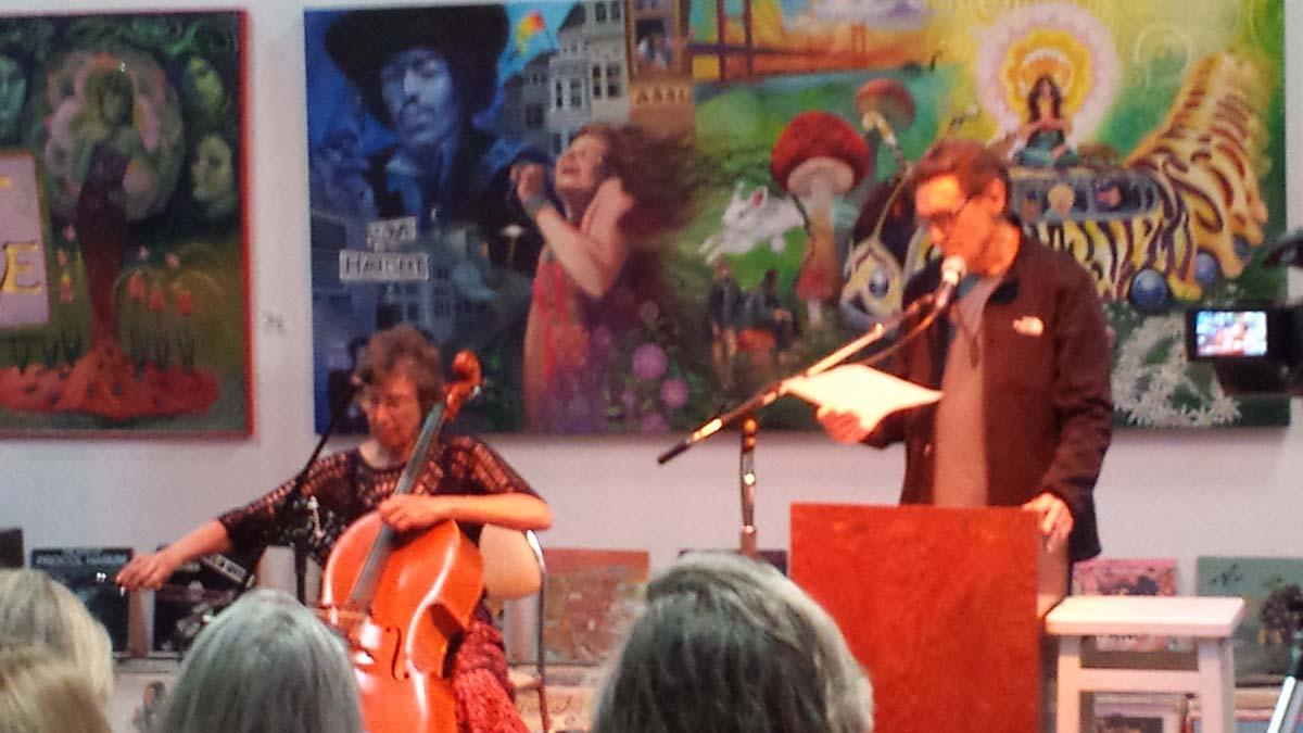 Harbin Benefit Reading Berkeley Art House 6-5-16